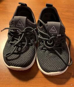 Adidas Originals Pharrell Williams PW Tennis Hu Gray Size 4K Toddler