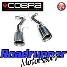 "Cobra Chrysler 300 Diesel Sports Exhaust 2.5"" Rear Race Tailpipes Stainless CY09"
