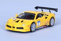 BBURAGO 1:43 FERRARI 488 Challenge DIECAST MODEL RACING CAR NEW IN BOX