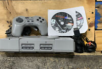 Sony PlayStation 1 Game Console 9001 W/ Nuclear Games Lot Bundle PS1 Piranha Pad