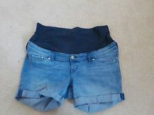 H&M Denim Maternity Shorts