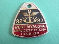 West Wyalong Services & Citizens RSL Club Badge