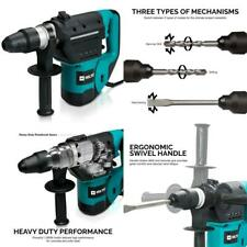 Hiltex 10513 1-1/2 Inch SDS Rotary Hammer Drill | Includes Demolition 1-1/2""
