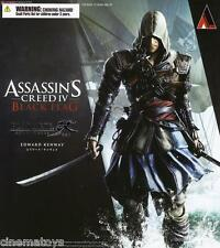 Assassin's Creed IV 4 Black Flag Edward Play Arts Kai Action Figure Assassin