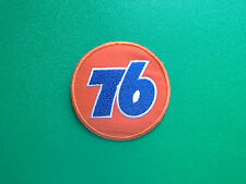 MOTOR RACING OILS, FUELS & TYRES SEW ON / IRON ON PATCH:- UNION 76 (a) BALL