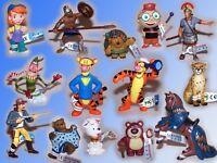 Bullyland Figur Toy Story 3, Winnie Puuh, Ritter, Cowboy, Sandmännche,  sowieTig