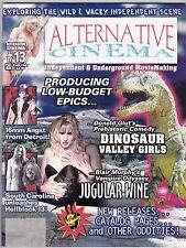 ALTERNATIVE CINEMA # 13 MAGAZINE FANAZINE DINOSAUR VALLEY GIRLS JUGULAR WINE
