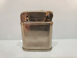 VINTAGE WORKING BEATTIE JET PIPE SILVER LIGHTER - MADE IN U.S.A.  3096.27