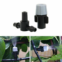 5Pcs Sprinkler Heads Nozzle Tee joints For Misting Irrigation Watering S0V2