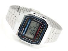 CASIO Vintage Retro Silver A168WA A168WA-1 Backlight Alarm Classic @