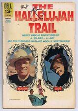 Hallelujah Trail Movie Classics ORIGINAL Vintage 1966 Dell Comics Burt Lancaster