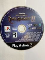 Baldur's Gate Dark Alliance II (Sony PlayStation 2, 2004) PS2 Disc Only Tested