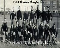 CFL SRFU 1914 Regina Rugby Club Saskatchewan Roughriders Team Pic 8 X 10 Photo