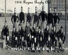 CFL SRFU 1914 Regina Rugby Club Saskatchewan Roughriders Team Photo 8 X 10 Pic