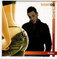 (FI110) MyKey, Right Or Wrong - DJ CD