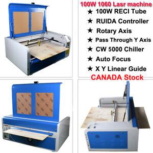 DSP100W 1060 CO2 Laser Engraver Machine &S&A CW-5000 Chiller Ruida 6445G CA SHIP