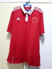 China National Football Team Home Jersey 10/11, BNWT, Size: L
