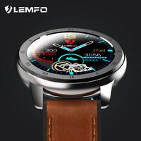 LEMFO ELF2 smart watch monitor Fréquence cardiaque Oxygène du sang Vie étanche