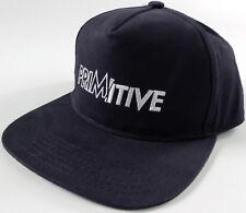 PRIMITIVE Skateboarding Electric Hat- NEW- navy blue baseball cap- p.rod - never