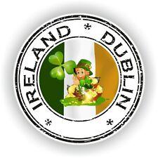 Irlanda Dublín Sello Sello Pegatina para Coche Camión Portátil Tablet Nevera #04