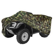 Camouflage Waterproof ATV Cover Universal For Kawasaki Bayou 185 220 250 300 400