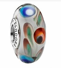 Pandora Charm Folklore Multicolor Silver 925 ALE Auth 791614