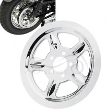 Chrome Pulley Cover Fit For Harley Sportster Iron 883 Forty Eight Seventy Two
