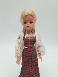 Vintage Sindy Doll from 1979 (75) in Original Tartan Touch Outfit also from 1979