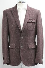 Men's Harry Brown, burgundy fleck blazer (M).. sample 2590