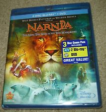 The Chronicles of Narnia -The Lion, the Witch, and the Wardrobe (Blu-ray/DVD)NEW