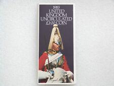 1983 Royal Mint Tema Primer año Royal brazos Bu £ 1 Una Libra Moneda Pack