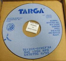 TARGA GRINDING WHEELS 1550 RPM MAX TG1204-GCVCF3A 2 IN BOX NIB