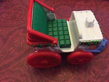 Fisher Price Little People Christmas Tree Lighting Carriage Wagon Sleigh Cart