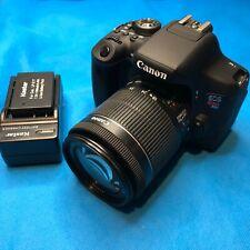 Canon EOS Rebel T6i 24MP Digital SLR Camera w/ EF-S 18-55mm IS STM Lens Kit