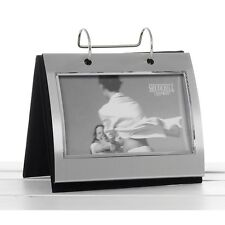 """Silver Colour Free Standing Flip Album Holds 50 of 6 x 4"""""""