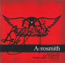 AEROSMITH TYLER WHITFORD CD Booklet original signiert IN PERSON Autogramm signed