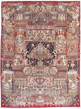 Alfombras de color principal rojo 100% lana para pasillos