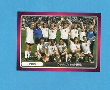 PANINI-EURO 2012-Figurina n.523- SQUADRA/TEAM - GERMANIA 1980 -NEW-DARK BOARD