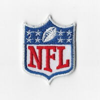 National Football League Small Iron on Patches Embroidered Patch Blue 8 Stars FN