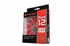 Thermaltake Pure 12 LED Red 120mm High Airflow Fan CL-F019-PL12RE-A - Brand New