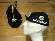 Rennrad Cap COLNAGO Vintage Cap Fixie Colnago Mütze black Cyclingwear Cap