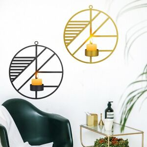 Light Hanging Living Room Candle Holder Wall Decorations Candlestick Sconces