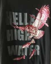 Hell & High Water Tee Shirt Florida Owl Black Men's Size Extra Large