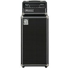 "Ampeg Micro-CL 100-Watt Bass Stack, Amp Head + 2x10"" Cab +Picks"