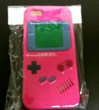 NEW Hot Pink Silicone Game boy Original Style Case Cover for Apple iPhone 5