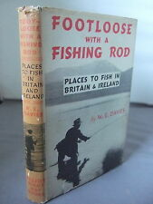 Footloose with a Fishing Rod - Fish in Britain & Ireland HB DJ 1953
