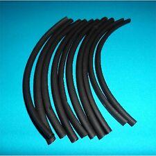 6.4mm diameter Black HEATSHRINK 20 x 200mm Pieces (HS6)