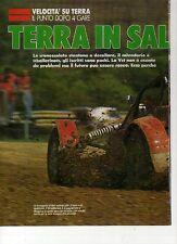 W15 Ritaglio Clipping 1992 Velocità su terra Ferri il punto dopo quattro gare