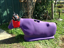 **PURPLE Something Steer ROPING DUMMY **Team Roping, Heading SALE PRICE!