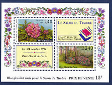 FRANCE BLOC  N° 15 ** , Fleurs, TB,  Cote: 16 €